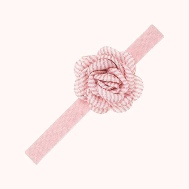 complemento pelo nina rosa textil rayas
