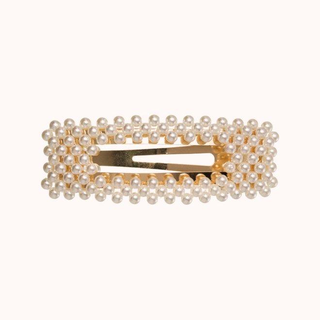colección siena complementos mujer invierno 2020 clip ranita muchas perlas rectangular